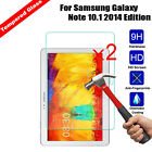2Pcs 9H Premium Screen Protector Film Tempered Glass For Samsung Galaxy Tablet