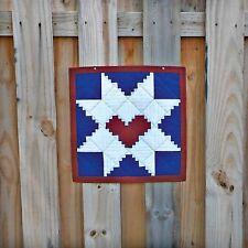 Cut Loose Press Log Cabin Star Wallhanging Pattern