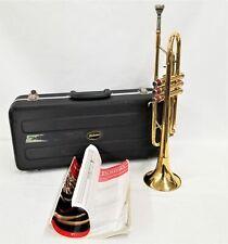 Palatino Trumpet Brass Instrument w/ Case