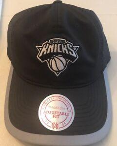 New York Knicks Mitchell Ness Hook Loop Runner Adjustable Cap Hat NWT QD21Z NWT
