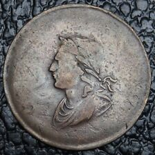 OLD CANADIAN COIN - 1834 - GEORGE ORDS TOKEN BR61 - Irish Half Penny - RARE -NCC