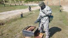 NEW NBC HAZMAT  CHERNOBYL,STALKER  SUIT FALLOUT. IP-5 GAS  MASK RUBBER GLOVES