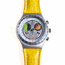 Swatch Irony Chrono 1996 - YCS1002 - All Over (Yellow Band) - Nuovo