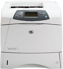 HP LaserJet 4200 4200n A4 Network Ready Mono Laser Printer + Warranty