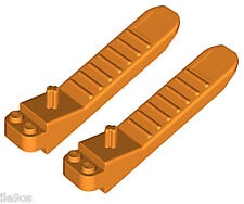 2 Lego Brick SEPARATOR Tools (technic,city,axle,removal,disconnect,orange,plate)