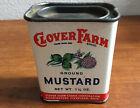 Spice Tin-Clover Farm-Mustard-1 1/4 oz-Cleveland,Ohio