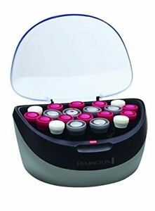 Remington PRO SHINE Hot Rollers 20 colors- Velvety Soft Flocked Curlers New