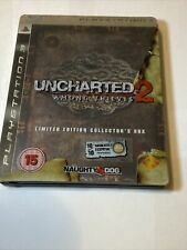 Uncharted 2 Among Thieves Steelbook Collectors Box, Sony PS3, PlayStation 3 Used