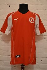 Switzerland Swiss National Team 2004/2006 Puma Home Football Soccer Shirt Jersey