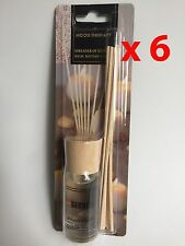 LOT (6) MOOD THERAPY Fragrance Scented Oil Reed Diffuser Kit Gift Set --Berries