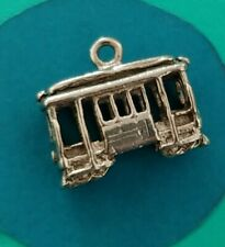 Charm L69 Cable Car Sterling Silver Vintage Bracelet