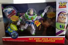 Disney Pixar Toy Story Space Adventure Buzz Lightyear Set w/ Talking Buzz, Alien