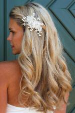 Braut Hochzeit Perlen Haarschmuck Haarspange Haarblume Blüte Blume Schmuck Haark