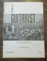 The Guitarist Magazine November 1939 Convention Issue