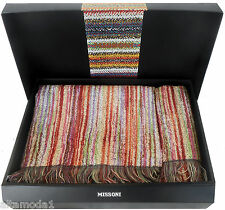 MISSONI HOME LIMITED EDITION OWEN 156 SET ASCIUGAMANI ECO TESSITURA E TINTURA