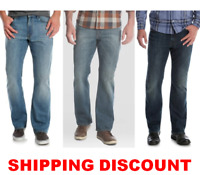 Men's Wrangler Relaxed Fit BOOTCUT Jean with Stretch