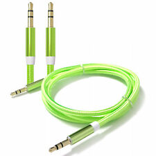 3 FT 3.5mm Auxiliary Aux Male to Male Stereo Audio Cable Cord iPod Car MP3 PC