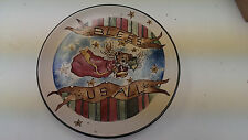 "BOYDS BEAR Homeware   Bless us All Angel Bear 8"" Snack  Plate New!!! Set of 2"