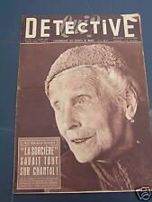 détective 1957 BEROU-LA-MULOTIERE TARADEAU ALES SIGONCE