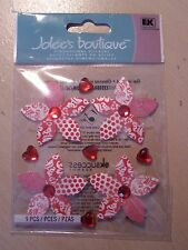 NEW RELEASE-JOLEE'S/JOLEES BOUTIQUE- RED PATTERNED FLOWERS