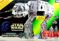 FX ELECTRONIC IMPERIAL AT-AT WALKER STAR WARS POWER OF THE FORCE VON HASBRO