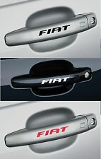 Para Fiat - 4 x Mango de Puerta Coche Decal Sticker Adhesivo-Bravo Punto 95mm de largo