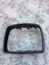 BMW E53 X5 00-06 OEM GENUINE LEFT DRIVER SIDE MIRROR COVER CAP, BLACK MATTE