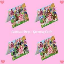 Carnival Kissing Booth Dog Cat Greeting Card, Pet Photo Lover Invitation Card