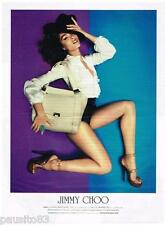 PUBLICITE ADVERTISING 105  2011  JIMMY CHOO  collection sac chaussures