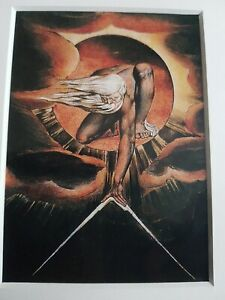 William Blake The Ancient Of Days Print Art Picture Painting
