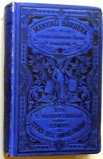 MANUALI BARBERA CAVAGNARI SCIENZA DELL'AMMINISTRAZIONE 1890
