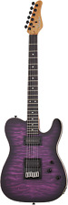 Schecter PT Pro Electric Guitar Transparent Purple Burst, 863