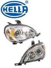 Mercedes W163 ML320 Headlight Assembly Set of Left and Right Halogen OEM