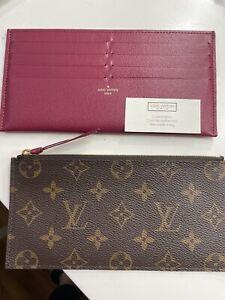 Authentic Louis Vuitton Pochette Two Inserts