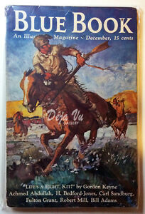 Blue Book Magazine - December 1936 -  VF