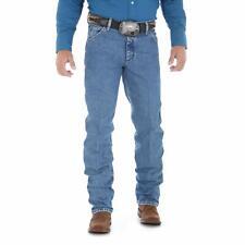 Wrangler Mens Jeans Light Blue Size 36x30 Straight Leg Regular Fit $40 858