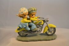 """Precious Moments Motorcycle - Two for the Road """"Buzzing Down Lifes Highway"""""""