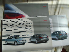 AUDI a4 Berlina & Avant brochure gamma Pack SEP 2005 mercato sudafricano