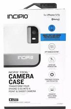 NEW Incipio 6PO4zn1 Focal Bluetooth Camera Case For iPhone 5/5S/SE Low White