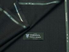 """Dormeuil """"tropicali Amadeus Carbone MS Lana Suiting Tessuto 4.42M - Made in England"""