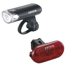 Cateye EL 130/TL155 (Omni 5) Front/Rear Bike/Cycling/Biking/Road/Racer Light