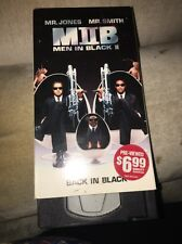 Men in Black II (VHS, 2002)  Mr. Jones   Mr. Smith 08435