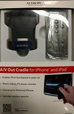Audiovox ADCR-200-AVO A/V Out Cradle for iPhone and iPod