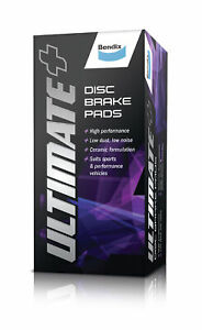Bendix Ultimate+ Brake Pad Set Rear DB1192 ULT+ fits Citroen C3 1.6 HDi 90 (F...