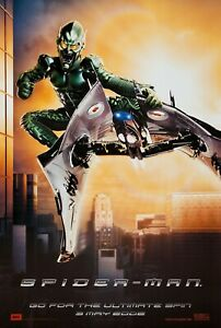 Spiderman movie poster - Green Goblin poster -  11 x 17 inches