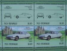 1972 CITROEN MASERATI SM Coupe Car 50-Stamp Sheet Auto 100 Leaders of the World