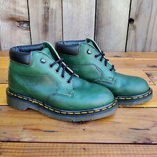💥Dr. Martens Doc England Rare Vintage Green Nubuck Leather Boots UK4 US6💥