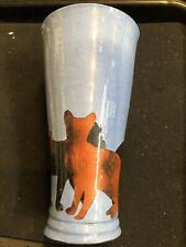 Vintage Westcote Bell Ceramics Cat Silhouette Pottery Vase