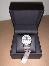 New In Box - JOSEPH ABBOUD Leather and Silver Field watch