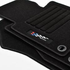 Velours anthrazit Fußmatten passend für BMW 3er E46 Cabrio 00-03
